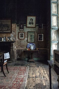 Georgian kitchen view by James Hughes (Lost Parables) on Flickr.