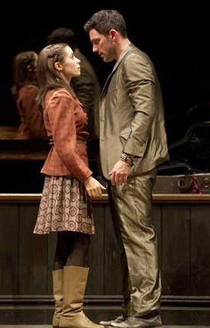 """They meet on a Dublin street, he a street musician about to abandon his guitar, she a Czech pianist without a piano. In """"Once"""" the Broadway musical, as in """"Once"""" the small hit film, love begins with a broken vacuum cleaner."""
