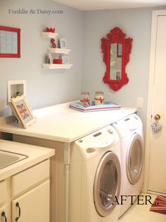 Fab Laundry Room remodel