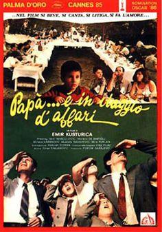 Papà... è inviaggio d'affari (1985) - Emir Kusturica