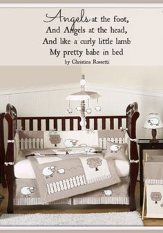 Lamb Baby Bedding: For the Modern Nursery - JoJo Designs Little Lamb Baby Bedding set #cribbedding
