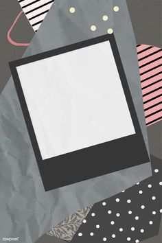 Blank photo frame on scrapped paper background vec Polaroid Frame Png, Polaroid Picture Frame, Polaroid Template, Picture Frames, Whats Wallpaper, Framed Wallpaper, Iphone Wallpaper, Photo Collage Template, Picture Templates