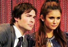 Ian doing Damon's eye thing
