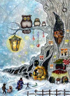 Посмотреть иллюстрацию Masher - Подготовка к зимней спячке.