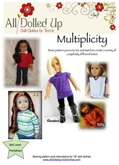 All  Dolled Up Multiplicity pattern