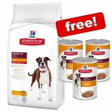 Details About 12kg Hill S Science Plan Dog Dry Food Free 3x 370g
