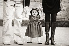 family shot - we did one like this with Lily,so cute!