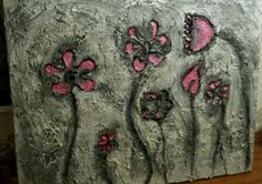 Schilderij beton.