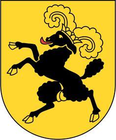 Wappen Schaffhausen matt.svg > Coat of arms of the canton of Schaffausen (Switzerland)