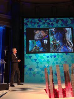 James Cameron on stage at iEX 2013 (Fiona Hanson/AP Images for SapientNitro)