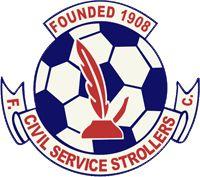 Civil Service Strollers FC. Edinburgh, Lowland League, Scotland