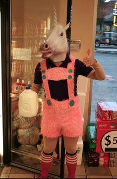 Unicorn with Milk, a classic combo.