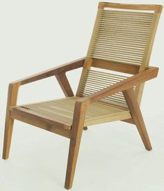 beautiful woven chair.