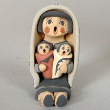 Native American / Indian Storytellers-Pueblo Pottery from the Southwest - Pueblo Pottery Maine