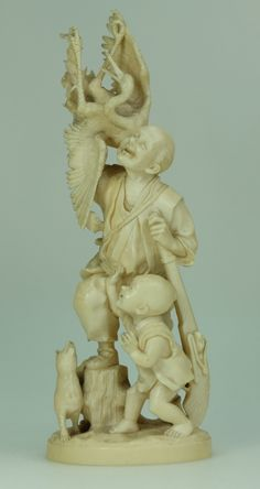 Auction of Antiques, Fine Art & Rare Pottery, Militaria, Jewellery &… Tokyo School, 19th Century, Oriental, September, Auction, Sunday, Ivory, Carving, Pottery