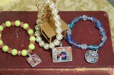 Collage charms with family photos. ~ Mod Podge Rocks!