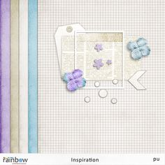 Inspiration mini kit from Rainbow Scrapbook Design