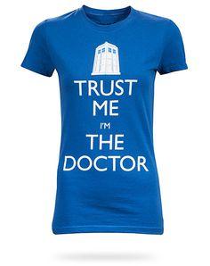 ThinkGeek :: Trust me I'm The Doctor Babydoll $21.99