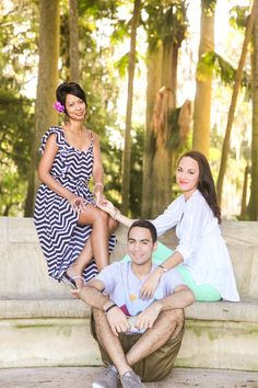 Adult Family Photoshoot Winter Park Florida | Soleil Boucher Photography