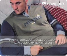 La nuova collezione #Pigiami uomo #Navigare in morbido cotone jersey è ora disponibile all'interno del negozio online.  Guarda la categoria #pigiami Uomo. www.atyintimoonline.it/133-pigiami-uomo