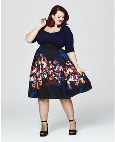 Plus Size Sweetheart Dress