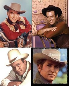 Bonanza - Hoss was my favorite. I even had a cat named after Hoss. Also, the cat's sister was named Little Joe!! Thought they were both boys at first.