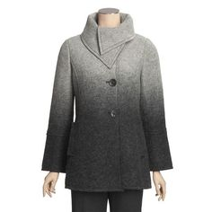 Renuar Ombre Boiled Wool Jacket - Lined (For Women) - Save 44%