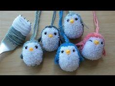 How to Make A Little Pom Pom , Penguins