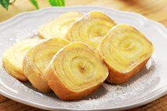 『バナナバウムクーヘン』卵焼き器でラックラク♡ | もぐー(mogoo)
