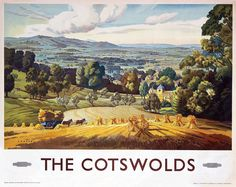 John Chater (active 1930-50) - The Cotswolds