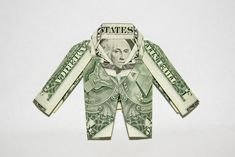 Origamis et pliages avec des dollars - www.dollarartist.com