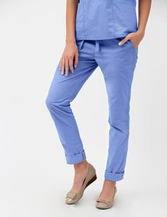 e2674572582 The Skinny Pant Ceil Blue Scrubs, Cute Scrubs Uniform, Scrubs Outfit,  Nursing Scrubs