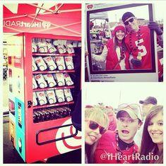 Social Media Vending Machines - IHeartRadio's Kiosk Turns Instagram Posts into…