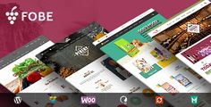 VG Fobe – Multipurpose Responsive WooCommerce Theme Clean, fresh, responsive and easy to customize – VG Fobe is a perfect WooCommerce Theme for your shop. It can be wines, pets, food, bread s...