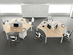 Furniture: Entrancing Desk For Designers Feat Heavenly Light Cream ...