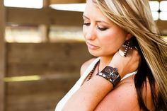 Bronze LoulaBelle Jewelry by 3D Belt Company