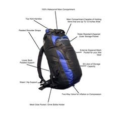 The DRYCASE waterproof backpack! A perfect mix of features and function.