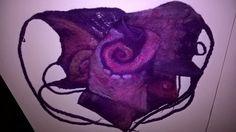 Galactic swirl Nuno Felted scarf от BeeverBooks на Etsy