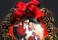 Réalisez une couronne de Noël