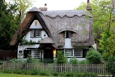 Cozy old thatched roof home in Houghton.