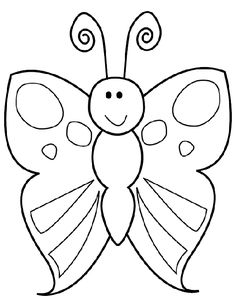 Great Kleurplaat Vlinder that you must know, You're in good company if you're looking for Kleurplaat Vlinder Cute Coloring Pages, Animal Coloring Pages, Coloring Books, Butterfly Outline, Butterfly Drawing, Drawing For Kids, Art For Kids, Insect Crafts, Drawing Sheet