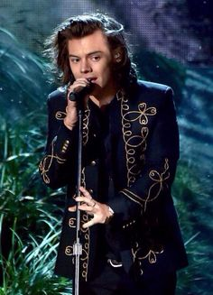 Harry basically looks like Prince Charming during Night Changes