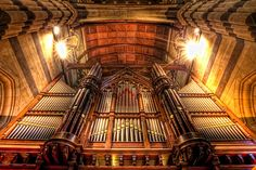 The organ at St Paul's Cathedral, Melbourne, Victoria