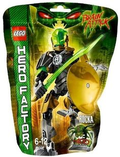 Lego Hero Factory 44002 Rocka NEW! From Thailand. by Other Toys & Games -- Awesome products selected by Anna Churchill Hero Factory, Lego Bionicle Sets, Lego Guns, Lego Robot, Robots, Shop Lego, Lego Design, Legos, Birthday Wishes