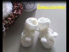 Punto de media: 1ª Parte - Como hacer unos peucos o botitas - YouTube Baby Booties, Baby Shoes, Accessoires Divers, Baby Boy Sweater, Baby Knitting, Make It Yourself, Sewing, Kids, Left Handed