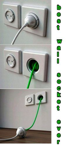 Best wall socket ever - www.bestlexever.com - #DIY #tips #life #hack #hacking #lifehacking #clever #smart #idea #ideas #best #howtodo #howto #how #doityourself