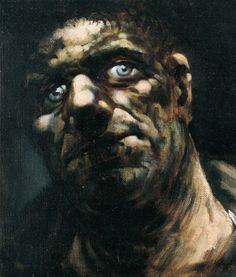 Goliath - Peter Howson Peter Howson, Ernst Ludwig Kirchner, Charcoal Sketch, Expressive Art, Painting People, Cool Artwork, Mixed Media Art, Painting & Drawing, Illustration Art