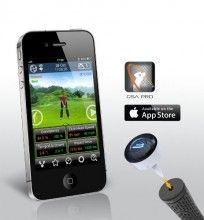 3Bays GSA Golf Swing Analyzer Pro $199.00 | The 3Bays GSA Golf Swing Analyzer Pro turns your cell phone into a launch monitor! At one third of an ounce, 3Bays GSA PRO is the world's lightest golf swing analyzer, which fits perfectly to t... #3bays #club #iphone #app #golf