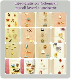 Libro con schemi a uncinetto per piccoli lavori Crochet Books, Crochet Crafts, Japanese Crochet, Free Pattern, Diy And Crafts, Crochet Patterns, About Me Blog, Crafty, Beads