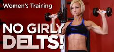 Ladies: 6 Exercises For Sexy, Shapely Shoulders